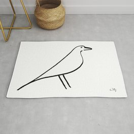 My Eames Bird Rug