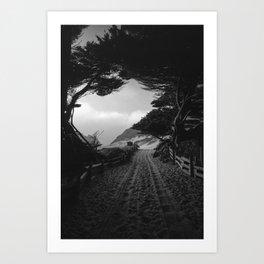 Pfeiffer Beach, CA Art Print
