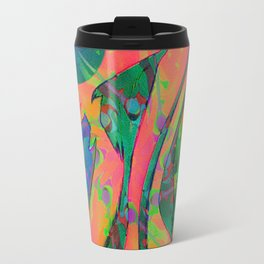 Psychedelic sketch Travel Mug