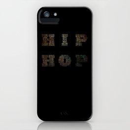 HIP HOP iPhone Case