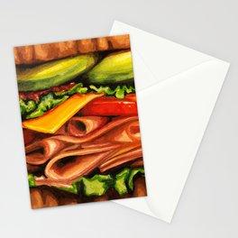 Sandwich- Turkey Bacon Avocado Stationery Cards