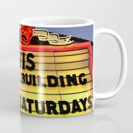 Elvis vintage sign Coffee Mug