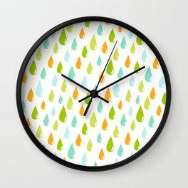 Vintage Drops Wall Clock
