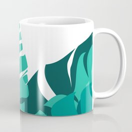 Tropical leafs Coffee Mug