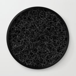 black and white 002 Wall Clock