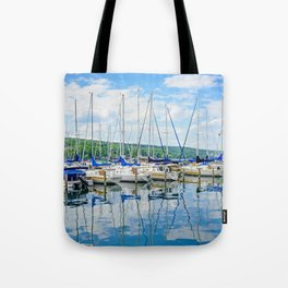 Glen Harbour Marina Tote Bag