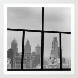 Philadelphia Skyline Art Print