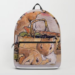 Peter Rabbit with his parents Backpack