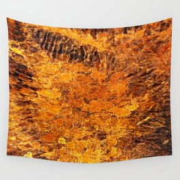autumnal reflections Wall Tapestry