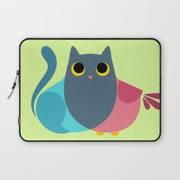 Owlcat Venn Diagram Laptop Sleeve