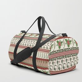 Mistletoe Ugly Sweater Duffle Bag