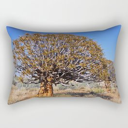 Quiver trees, Namibia Rectangular Pillow