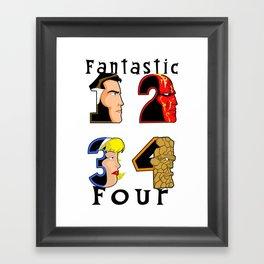 New Fantastic Four  Framed Art Print
