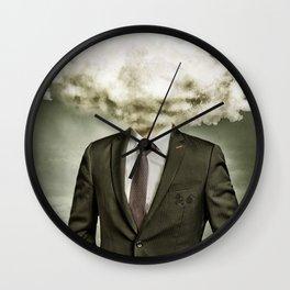 Mr. Rain Cloud | Atom Bomb Poster | It Was All Business Wall Clock