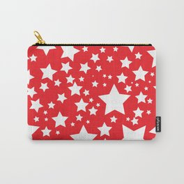 Red with white stars Carry-All Pouch