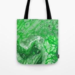 Green Lava Tote Bag