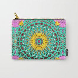 Chicks and Hens Mandala Carry-All Pouch