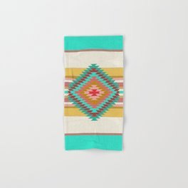 FIESTA (teal) Hand & Bath Towel