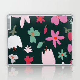 Handmade Out In the Forest Floral Patter Laptop & iPad Skin