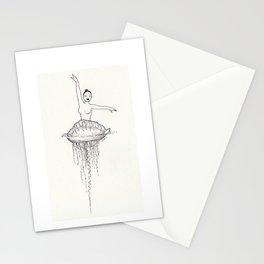 Ballet dancer Stationery Cards