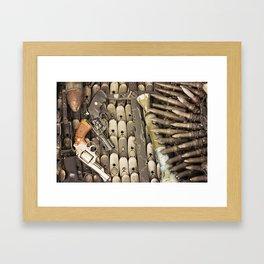 Let's make Peace Framed Art Print