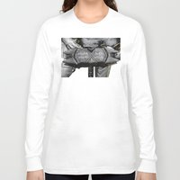 warhammer Long Sleeve T-shirts featuring Medieval knight with a warhammer by digital2real