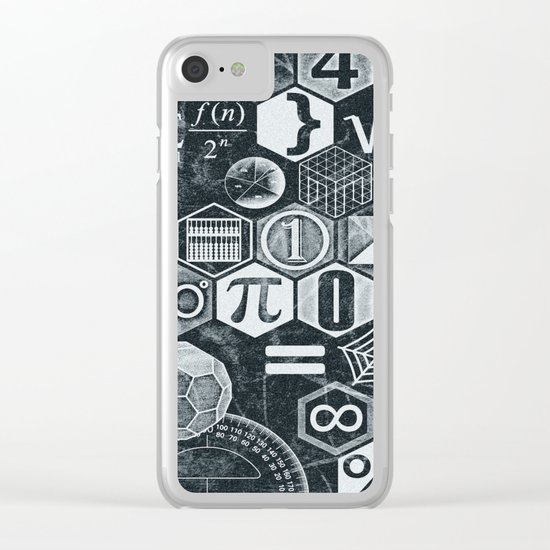Math Class Clear iPhone Case