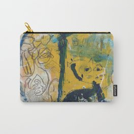 blue cat home Carry-All Pouch