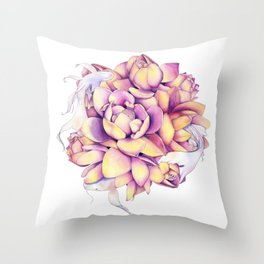 Dancing Harmony Throw Pillow