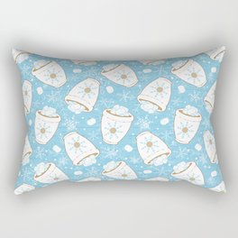Snowing Marshmallows Rectangular Pillow