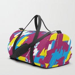 Abstract Design Duffle Bag