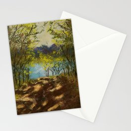 Chickies Rock Overlook Soft Pastel Painting Stationery Cards
