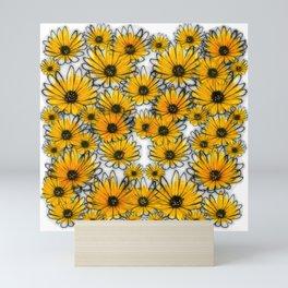 Floral invasion Mini Art Print