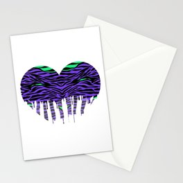 Stripes three Stationery Cards