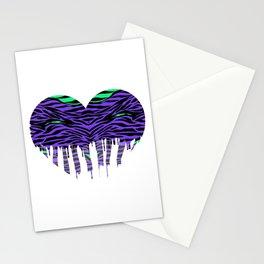 Stripes three Stationery Cards