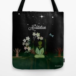 Meditaition by Sherriofpalmsprings Tote Bag