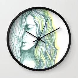 The Thaw Begins Wall Clock