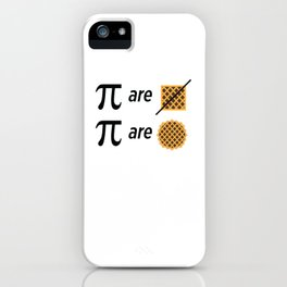 Mike Montgomery's Pi Joke iPhone Case