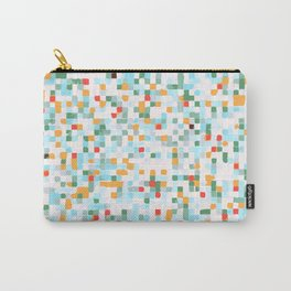 handmade coloured squares Carry-All Pouch
