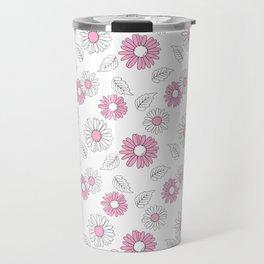Simple Flowers 1 Travel Mug