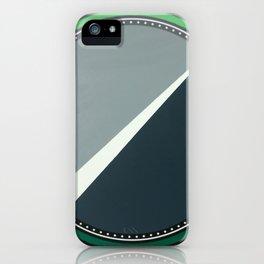 London - green circle iPhone Case