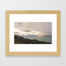 //03-07 LAKE PUKAKI Framed Art Print