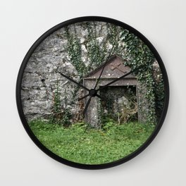 Moss and Vines Wall Clock
