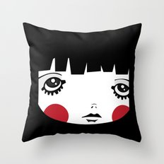 IN A Square Throw Pillow