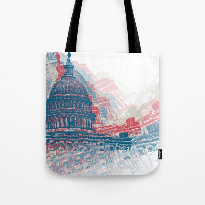 Capitol Crisis Tote Bag