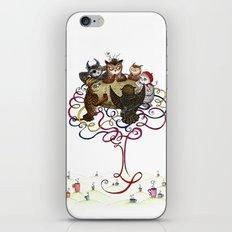 Art School Owl Assembly iPhone & iPod Skin