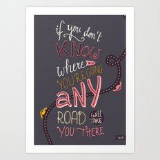 Any Road Art Print