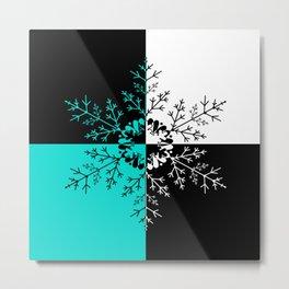 Snowflake 4 Metal Print
