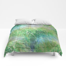 Nature's Miracles Abstract Comforters