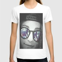 sunglasses T-shirts featuring Sunglasses by Jerry Watkins